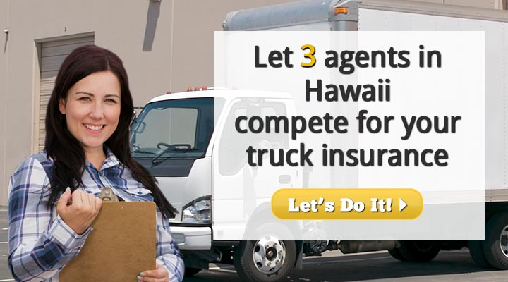 Hawaii Box Truck Insurance Quotes